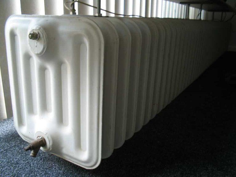 Könnyen szabályozható aluminium radiátor