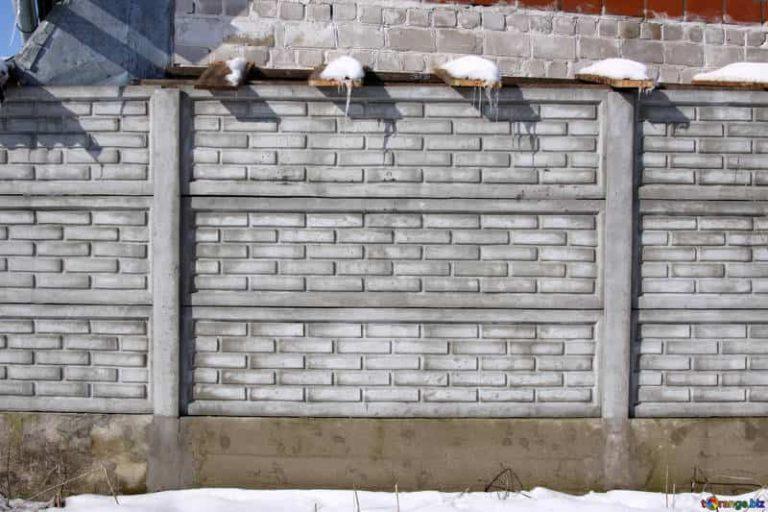 Hosszú távú befektetés a betonkerítés