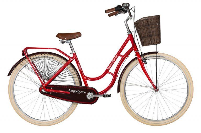 Női bicikli teljes felszereltséggel