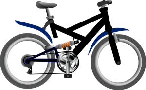 kerékpár sárvédő