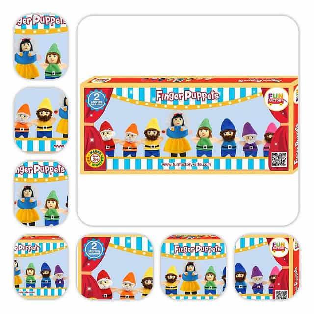 Csodálatos készségfejlesztő játékok bábukkal