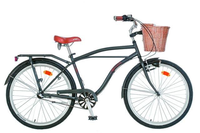 Városi kerékpár unisex színekben